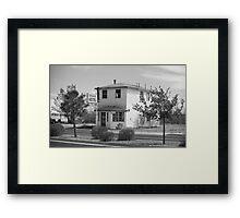 Route 66 - Wayside Motel Framed Print