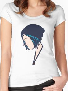 Life is Strange - Minimalist Chloe Women's Fitted Scoop T-Shirt