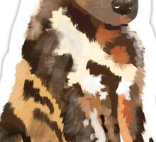 African Wild pup Sticker