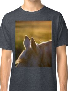 Horse ears at sunset Classic T-Shirt
