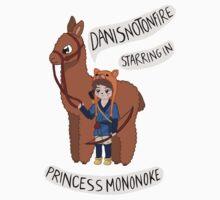 Danisnotonfire in Princess Mononoke One Piece - Short Sleeve