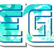 Vaporwave Sega Sticker