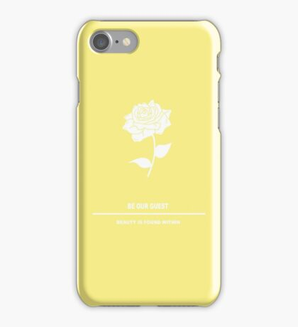 Beauty and the Beauty Inspired Minimalist iPhone Case/Skin