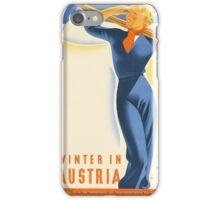 Winter in Austria iPhone Case/Skin