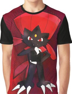 Weavile - Red Graphic T-Shirt