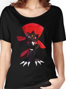 Weavile - Red Women's Relaxed Fit T-Shirt