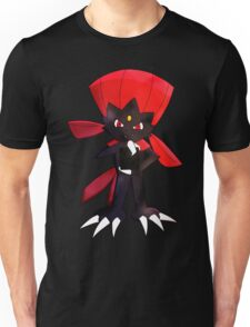 Weavile - Red Unisex T-Shirt