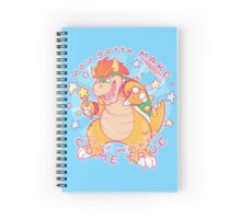 You gotta MAKE your wishes come true Spiral Notebook