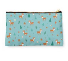 Cute Deer Pattern Studio Pouch