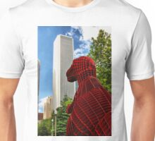 Dinosaur in the City Unisex T-Shirt