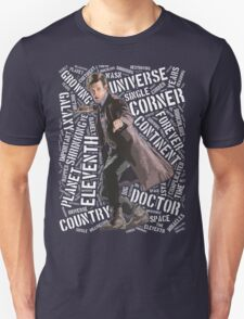 Eleventh Doctor Typographic Quote T-Shirt