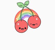 Cherry Rainbow Womens Fitted T-Shirt