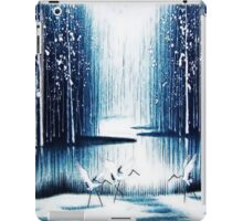 'Winter Trio' - Winter Heron Scene iPad Case/Skin