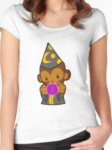 Bloons Monkey Apprentice Women's Fitted Scoop T-Shirt