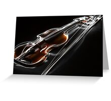 'Virtuoso' - Blazing Violin Greeting Card
