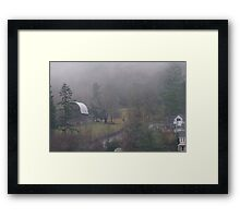 Pacific Northwest winter day Framed Print