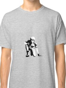 Ghost in the Shell,  Major crouching (B&W) Classic T-Shirt