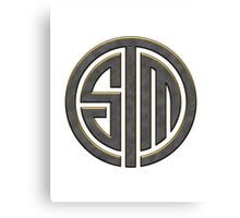 TSM Metallic (Yellow Glow) Canvas Print