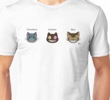 Cheshire Cookie Bus Cat Unisex T-Shirt