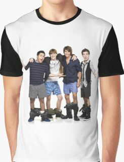 [OMG] Big Time Rush Graphic T-Shirt