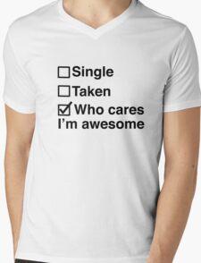 I'm Awesome Mens V-Neck T-Shirt