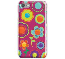 Abstract Floral Pattern  iPhone Case/Skin
