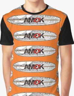 AMOK - tribal breaker surfboard Graphic T-Shirt