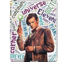 Eleventh Doctor Quote  iPad Case/Skin