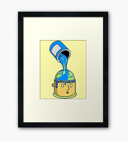 Perception is Reality Framed Print