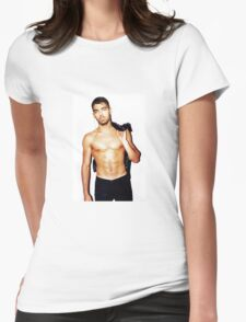 Joe Jonas shirtless Womens Fitted T-Shirt
