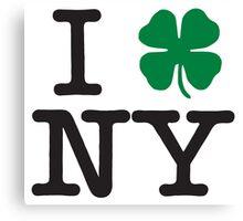 Irish in New York Canvas Print