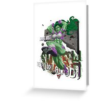Shulkster w/Letters Greeting Card