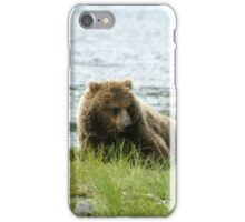 Fishing IS such HARD WORK....... iPhone Case/Skin