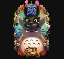 Totoro - Toothless - Ohana T-Shirt