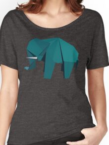 ORIGAMI ELEPHANT Women's Relaxed Fit T-Shirt