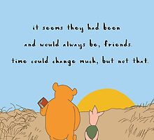 Winnie the Pooh - Forever Friends by visualdose