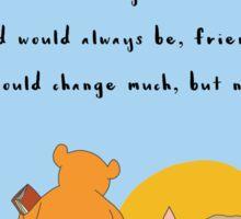 Winnie the Pooh - Forever Friends Sticker