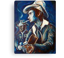 Townes Van Zandt Blues Canvas Print