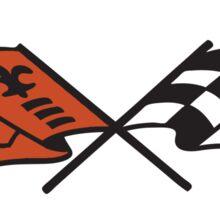 Chevrolet Corvette Vintage Logo Sticker