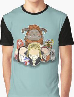 Labyrinth Nostalgia Graphic T-Shirt