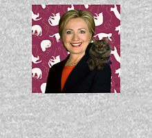 Hillary Clinton Loves Cats Unisex T-Shirt
