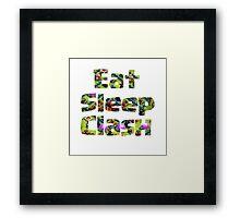 Clash of Clan Framed Print
