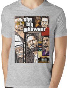 Big Mens V-Neck T-Shirt