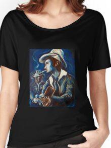 Townes Van Zandt Blues Women's Relaxed Fit T-Shirt