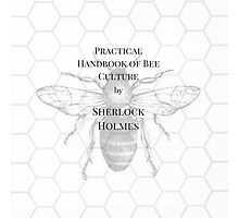The practical handbook of bee culture by Sherlock Holmes Photographic Print
