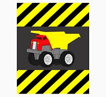 Red and Yellow Dump Truck Caution Tape Unisex T-Shirt