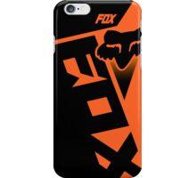 Motocross shiv orange iPhone Case/Skin