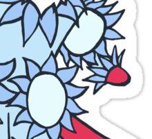 Little Red Fox - David Bowie Tribute Sticker