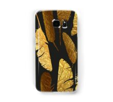 - Golden feathers - Samsung Galaxy Case/Skin