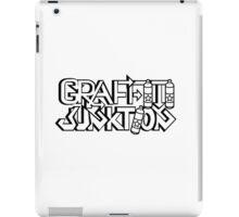 Graffiti Junktion (Solid Black) iPad Case/Skin
